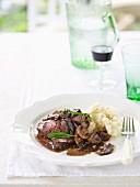 In Season - Roast Beef with Celeriac Mash