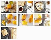 French Toast mit Ahorn-Quark und Orangen zubereiten