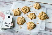 Quick and easy apple crumble cookies
