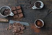 Symbolbild für Backen mit Schokolade
