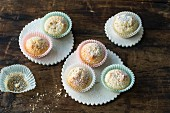 Quick and easy mini lemon muffins