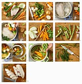 How to make chicken pot au feu