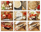 How to make pancake wraps