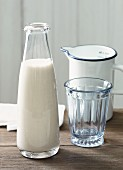 Lactose-free oat and vanilla drink
