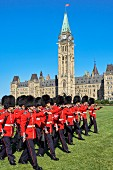 Grenadier Guards parade, Ottawa, Canada