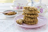 Cookies with oaks and buckwheat flour