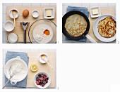 Crepe mit Schlagsahne und Waldbeeren zubereiten