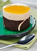 Semifreddo with coconut and mango