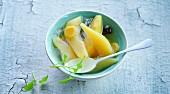 Eingemachte Birnen mit Ingwer und Vanille