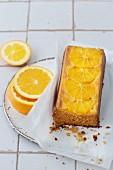 Zuckerfeier Orangenkuchen