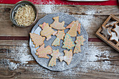 Gingerbread biscuits and cinnamon stars