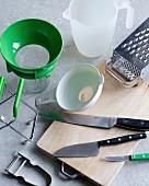 Kitchen utensils for preserving