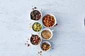 Vegan, soya-free toppings for salad and soups