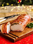 Cod Loin With Bacon