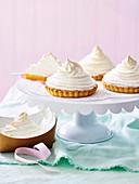 Lemon Lime meringue tarts