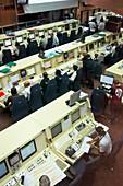 Ariane launch control centre.