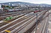 Zurich railyard