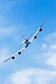 Airbus A380 in flight