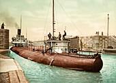 Whaleback cargo ship, 1890s