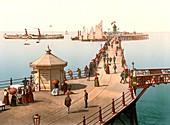 Margate Pier, 1890s