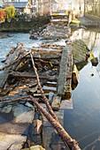 Pooley Bridge, UK, after Storm Desmond