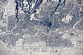 Calgary, Canada, ISS image