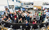 LHC restart at CERN, March 2016
