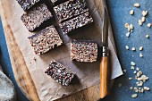 Chocolate crisp rice treats
