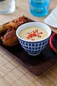 Thai peanut dip sauce