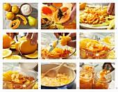 Papaya-Orangen-Marmelade zubereiten