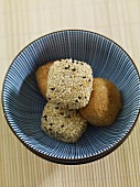 Rice balls with sesame seeds (Japan)