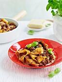 Beef and mushroom ragu