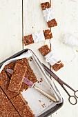 Oats and Chocolate Granola Bars