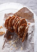 Almond gingerbreads