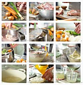 How to make a poultry broth