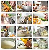 Geflügelbrühe zubereiten