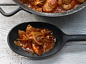 Hungarian goulash with turkey