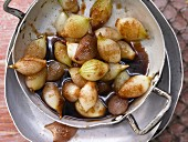 Braised onions with Marsala and Balsamic