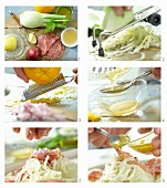How to make fennel salad with salami
