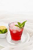 Blackcurrant Apple Mocktail