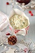 A herb and caper mayonnaise for Christmas roasts