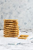 Stack of Crispbread