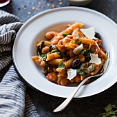 Chickpea and spinach