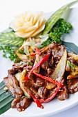 Nyonya lamb, Malaysian food