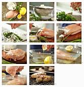 Gefüllte Hähnchenbrust zubereiten