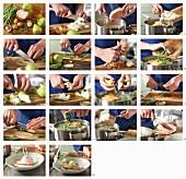 Birnen, Bohnen und Kassler (Eintopf, Norddeutschland) zubereiten