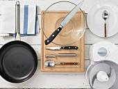 Kitchen utensils for making shrimp balls