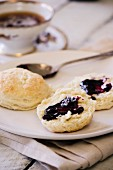 Buttermilk Biscuits with Jam