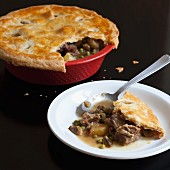 Pot pie with veal