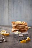 Classic Lemon and Sugar Pancakes